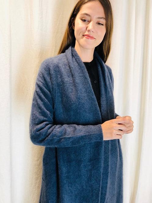 Manteau veste Bleu raccoon - C.T. Plage