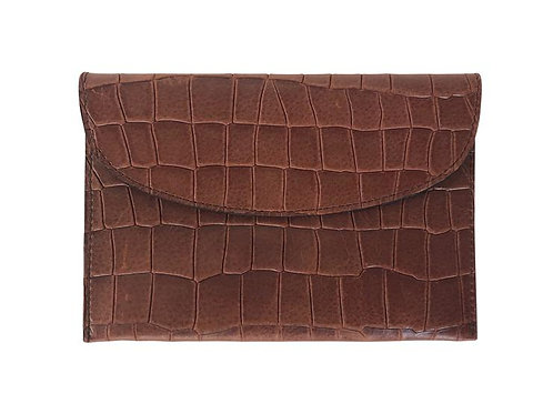 Pochette carré d'or XS mocha - Linde Gallery St Barth