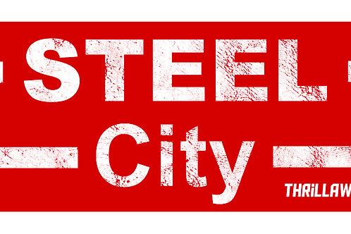 Steel City sticker