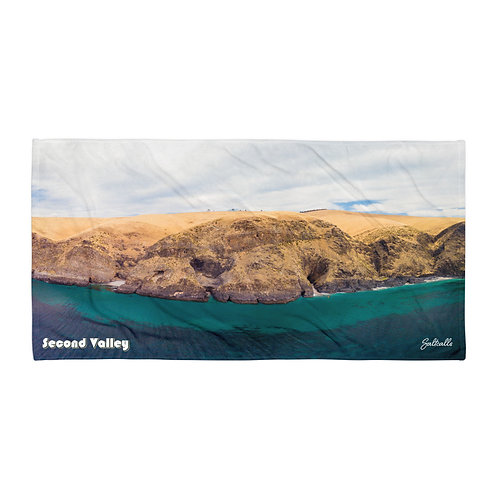 Second Valley beach towel