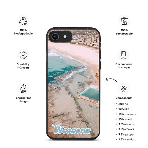 Biodegradable iPhone case - Woonona Pool & Surf Club