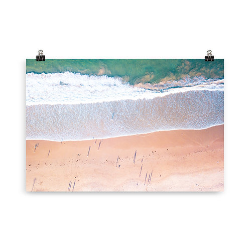 Print (unframed) - McCauley's Beach Aerial