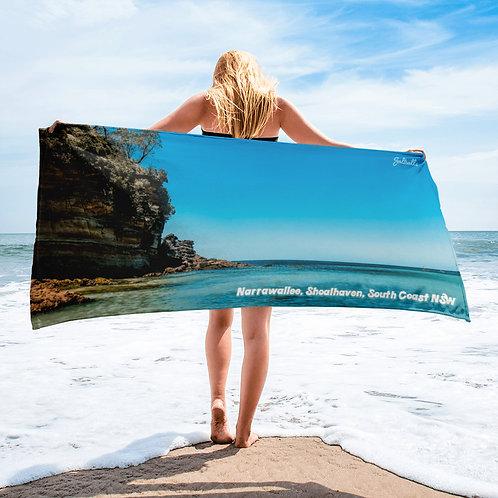 Narrawallee Shoalhaven South Coast NSW beach towel
