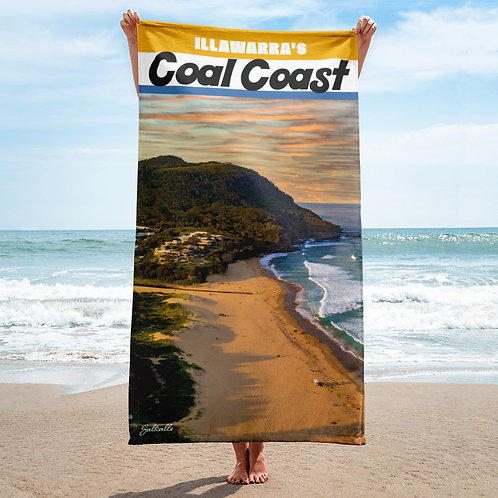 Illawarra's Coal Coast (Stanwell Park) beach towel