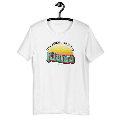 It's always Sunny in Kiama - Retro Sunrise - Saltcalls Unisex T-Shirt