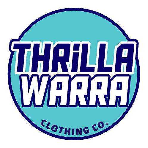 Thrillawarra roundel logo sticker