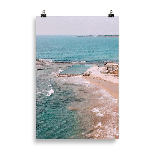 Woonona Rock Pool unframed print