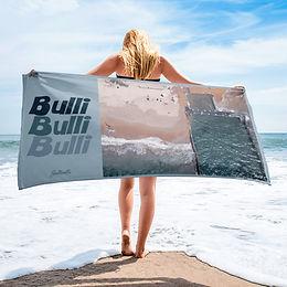 Bulli ocean pool beach towel (retro style)