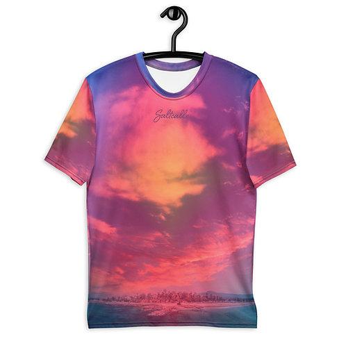 Wollongong Moody Blue Mile - Saltcalls All Over Print - T-shirt