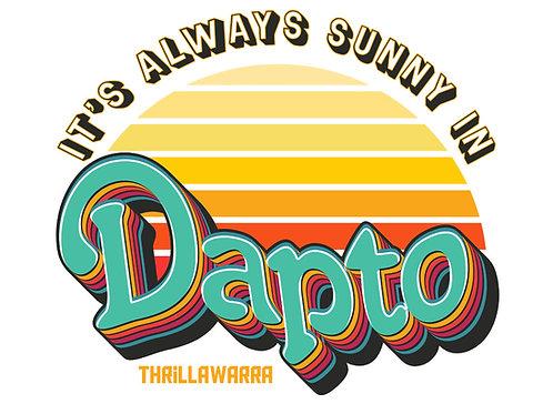 It's always Sunny in Dapto sticker