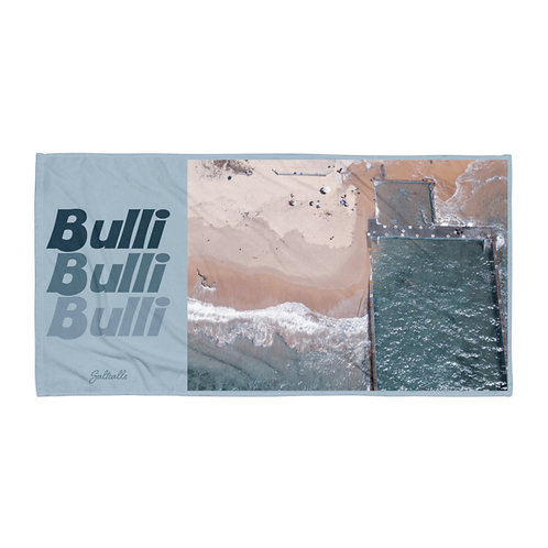 Bulli ocean pool beach towel