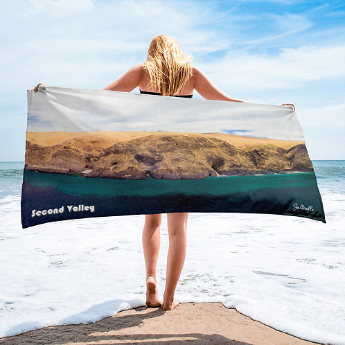 Second Valley (South Australia) beach towel