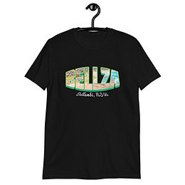 Bellza / Bellambi wordmark Short-Sleeve Unisex T-Shirt