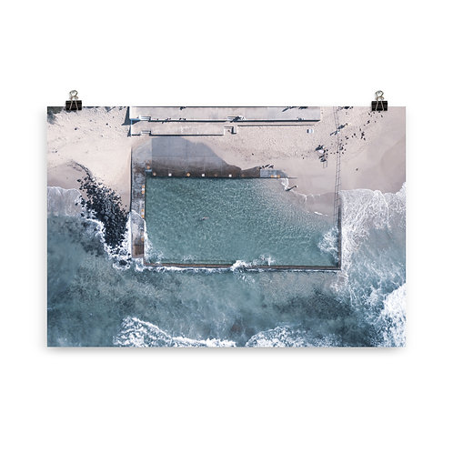 Print (unframed) - Towradgi Pool
