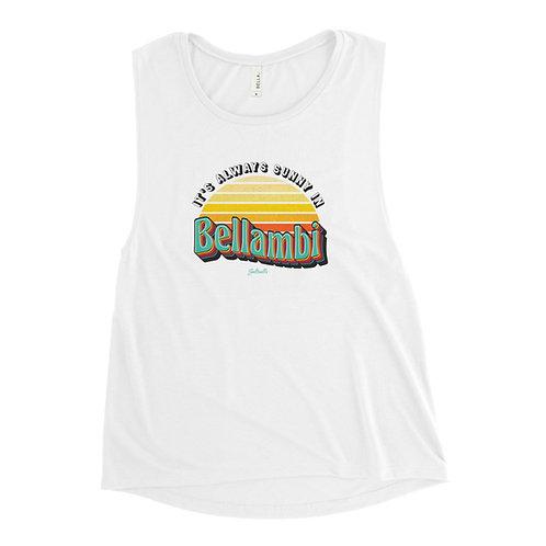 It's Always Sunny in Bellambi - Saltcalls - Women's Muscle Tank