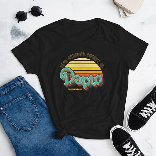 It's Always Sunny in Dapto - Women's short sleeve t-shirt