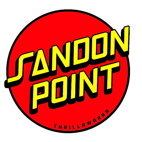 Sandon Point sticker