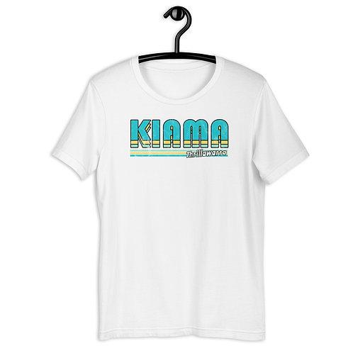 Kiama retro stripe - Short-Sleeve Unisex T-Shirt