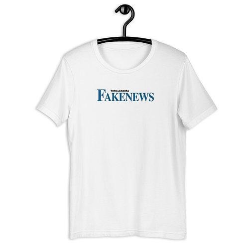 Thrillawarra Fakenews Short-Sleeve Unisex T-Shirt