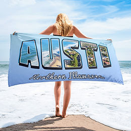 AUSTI - Northern Illawarra beach towel