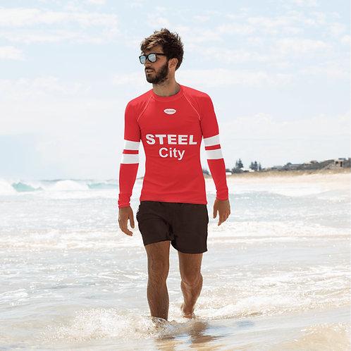 Steel City - All-Over Print Men's Rashvest