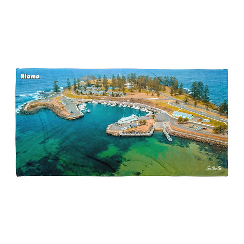 Kiama Harbour beach towel