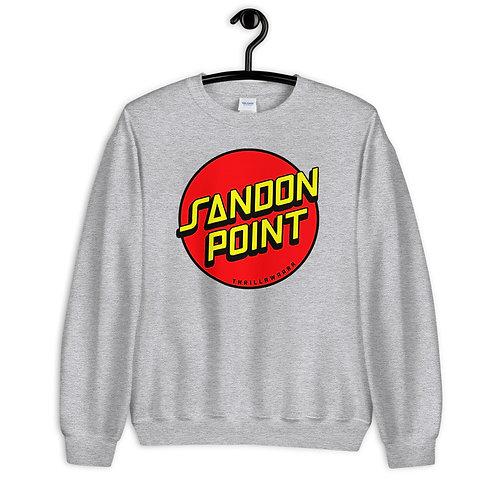 Sandon Point (red / yellow logo) Unisex Sweatshirt