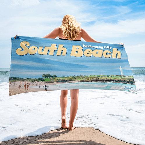 Wollongong City / South Beach beach towel.