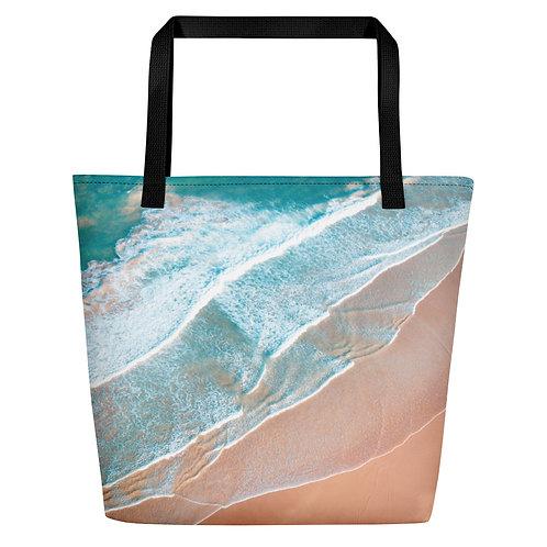 Beach Bag - Shoreline aerial
