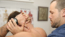 Osteopathy session
