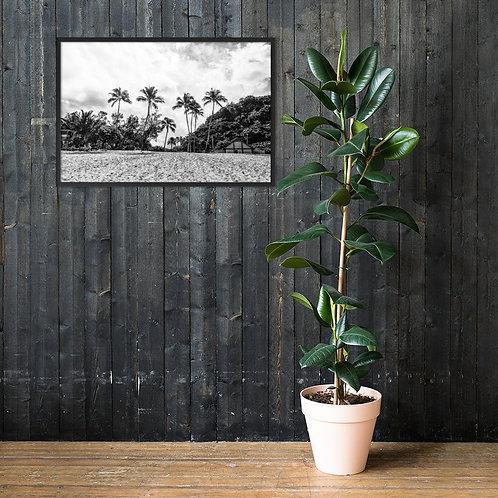 Waimea Bay, Hawaii | Framed matte paper print