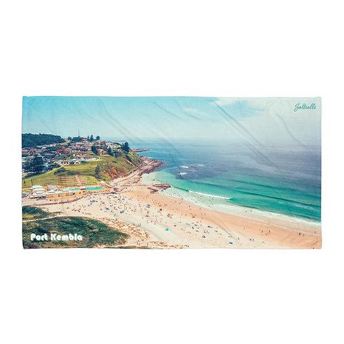 Port Kembla beach towel