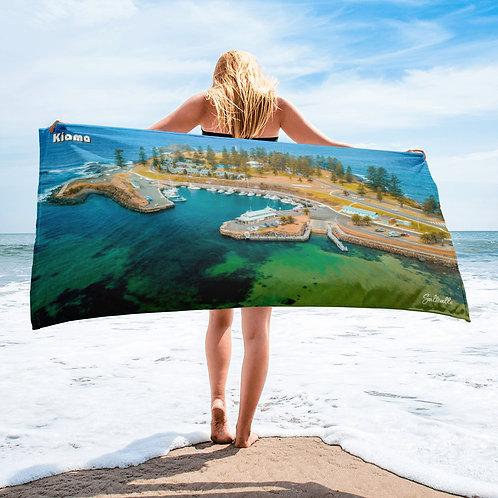Kiama Harbour beach towel