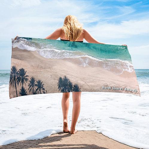 North Shore Hawaii beach towel