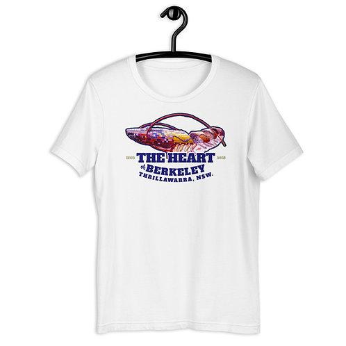 Big Prawn, The Heart of Berkeley - Short-Sleeve Unisex T-Shirt