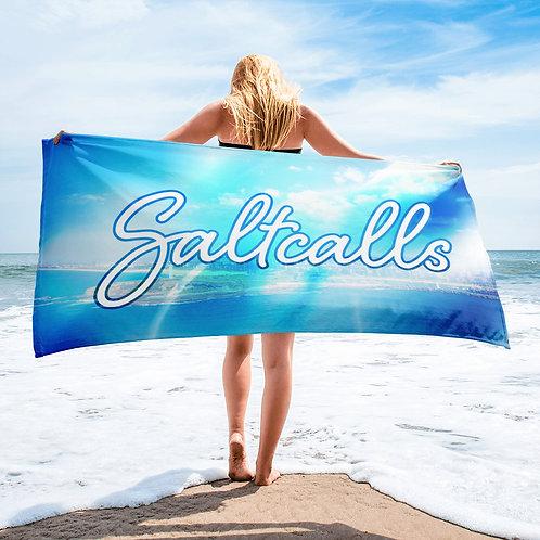 Saltcalls Big Logo Towel
