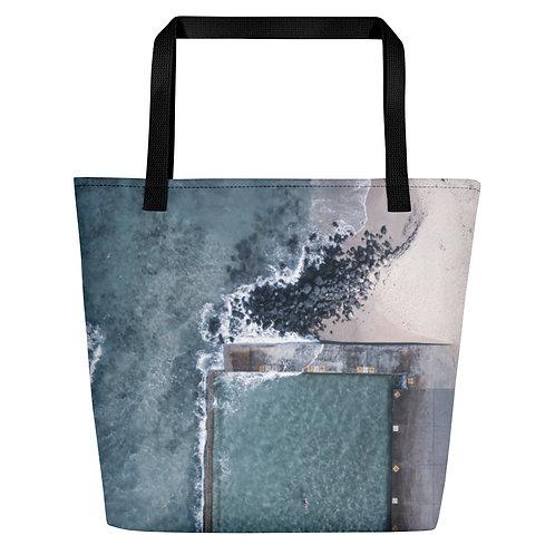 Beach Bag - Towradgi Pool aerial