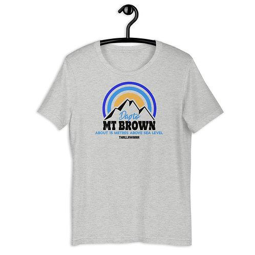 Mt Brown, Dapto - Short-Sleeve Unisex T-Shirt
