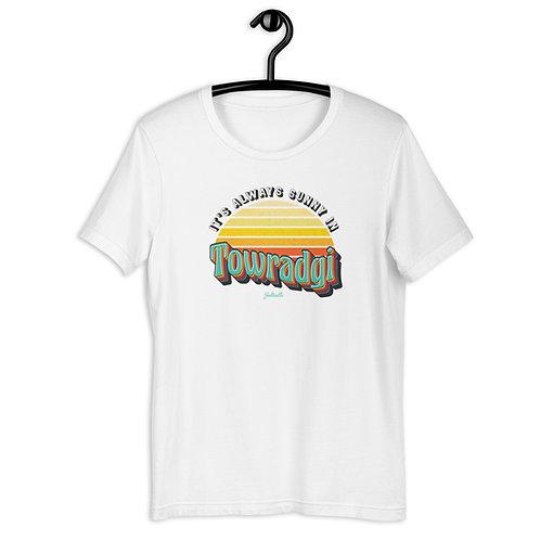 It's always Sunny in Towradgi - Retro Sunrise - Saltcalls Unisex T-Shirt