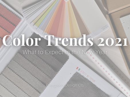 Color Trends 2021 | What to Expect in the New Year