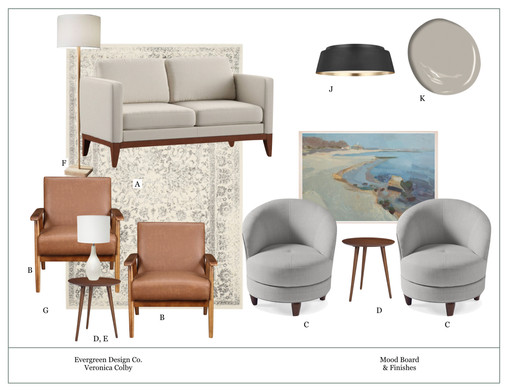 Cozy Modern Sitting Room