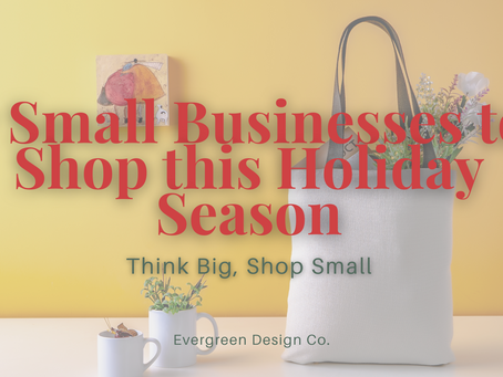 7 Small Businesses to Shop this Holiday Season