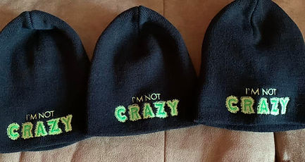 im not crazy hat .jpg