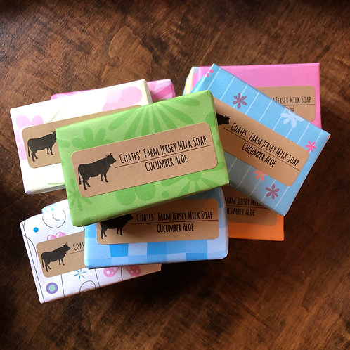 Coates Farm Jersey Milk Soap