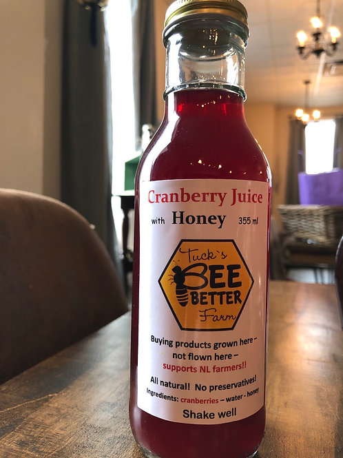 Tuck's Bee Better Cranberry Juice with Honey