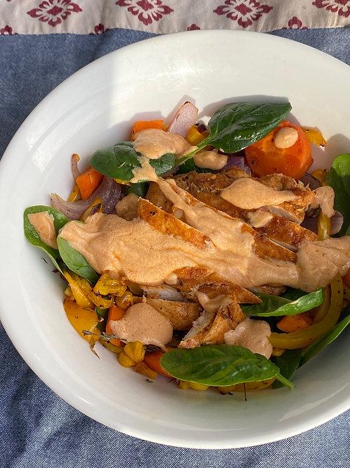 Chipotle Mayo Chicken Salad
