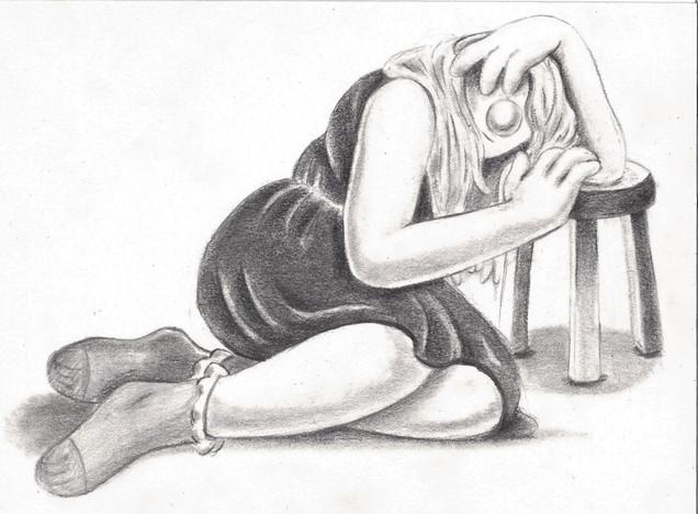 Girl in Repose #3