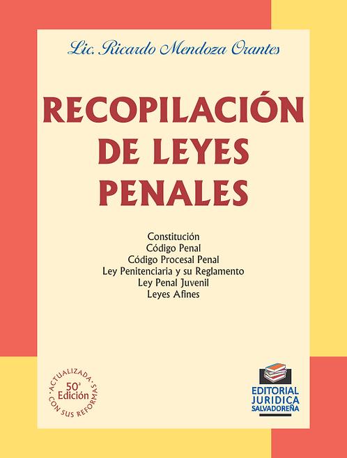 Recopilación de Leyes Penales