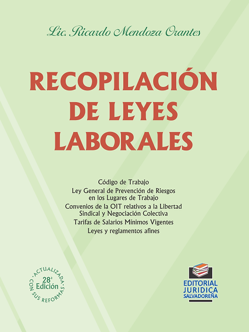 Recopilación de Leyes Laborales