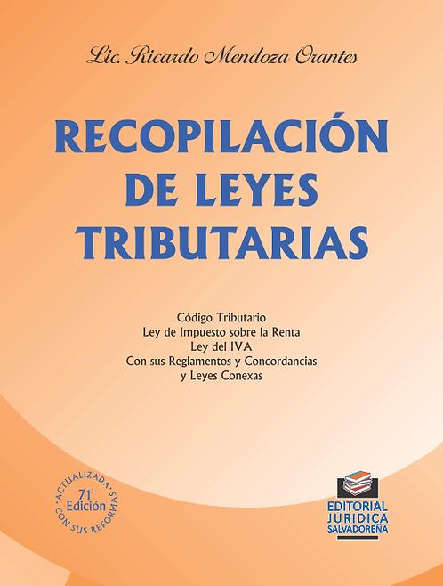 Recopilación de Leyes Tributarias